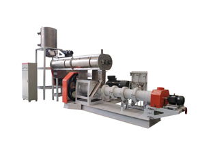 Wet type float fish feed extruder